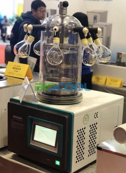 北京博医康携真空冷冻干燥机出席CISILE2019