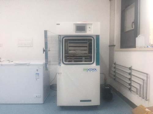 中国地质大学采购博医康Pilot5-8S冻干机1