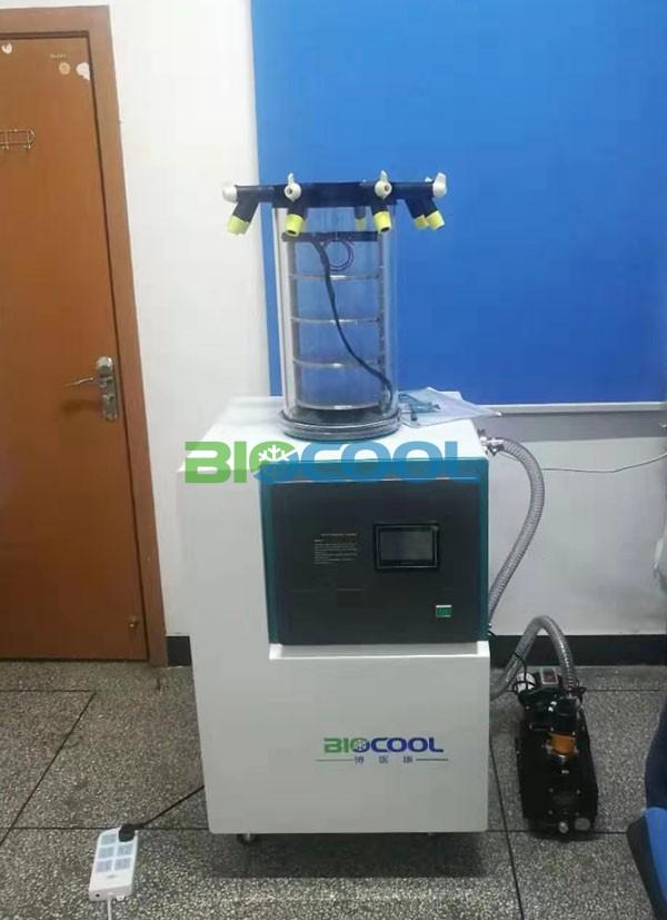 西南醫科大學采購草莓视频新版在线观看Lab-1C-80凍幹機4