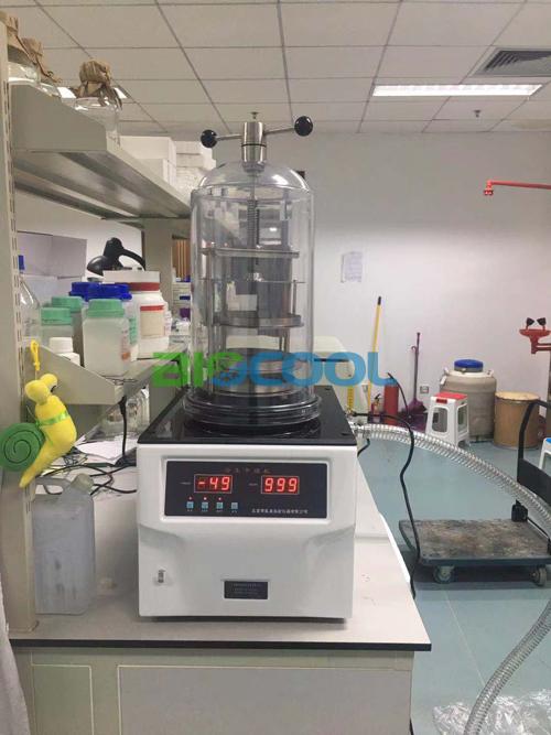 赛尔富森生物科技采购博医康FD-1B-50冻干机4