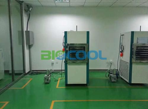 内蒙古银宏干细胞库采购博医康Pilot10-15Es冻干机3
